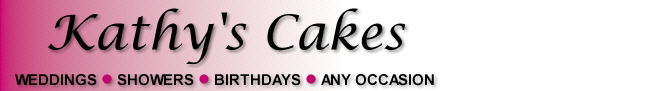 Kathy's Cakes - www.KathysCakes.com - Weddings, Showers, Birthdays, Any Occasion!s